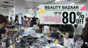 BeautyFresh: Up to 80% OFF warehouse sale – skincare, fragrances & cosmetics! From 22 – 24 Mar 2018