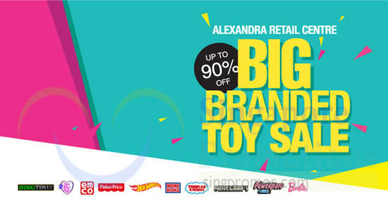 Branded toy sale feat 4 Mar 2018