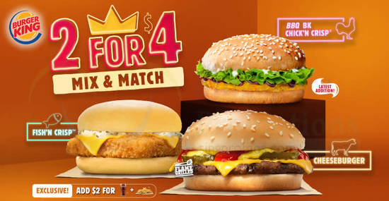 Burger King feat 2 10 Mar 2018