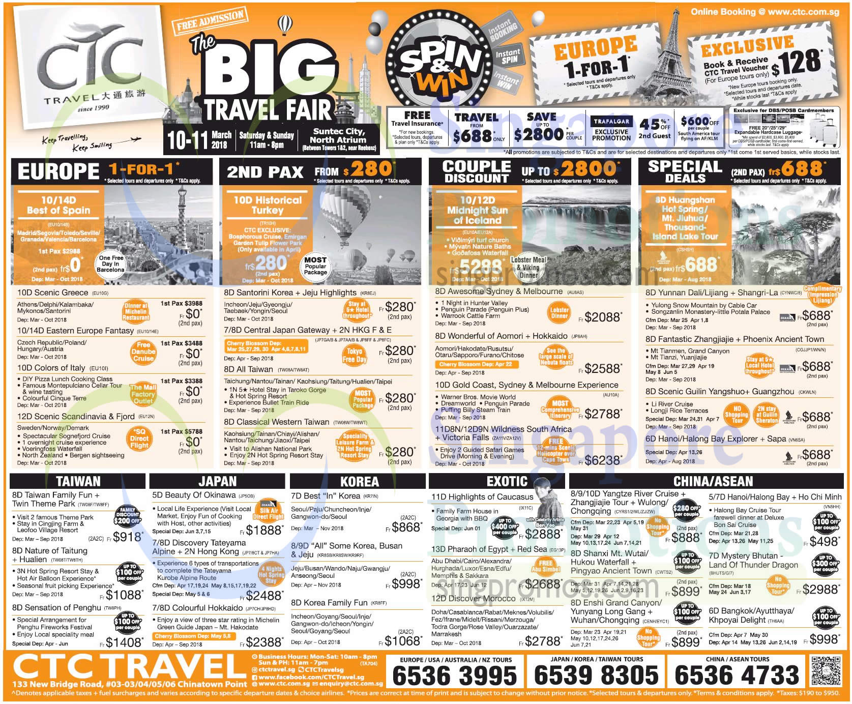 Ctc Annual Travel Insurance