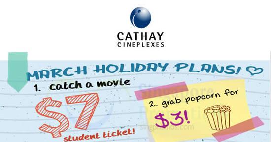 Cathay Cineplexes 9 Mar 2018