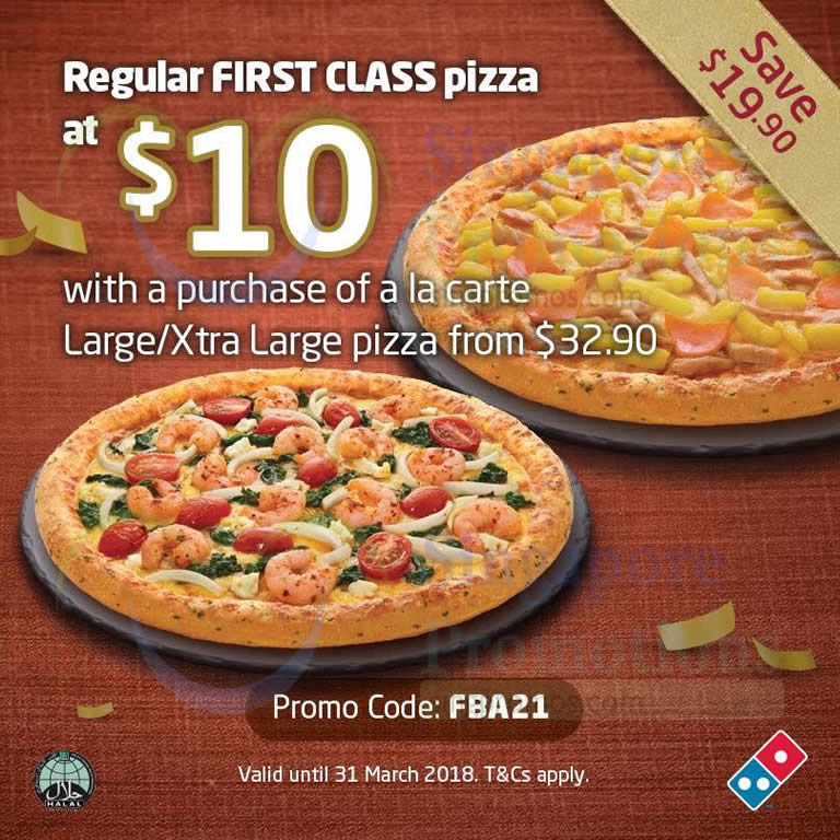 coupon code for dominos online order