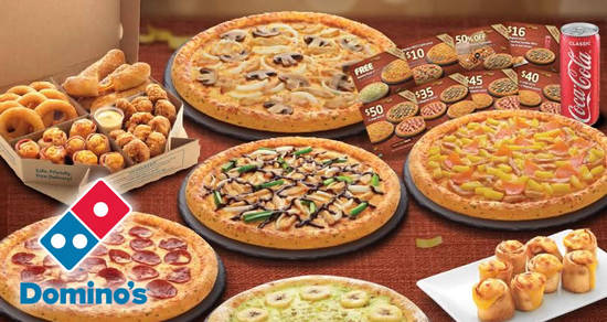 Dominos Pizza feat 14 Mar 2018