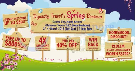 Dynasty Travel fair 1 Mar 2018
