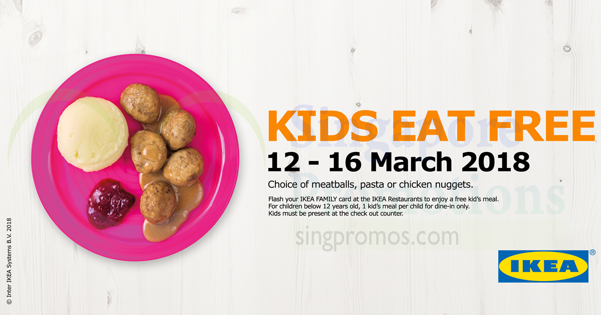 When All Kids Eat For Free >> Ikea Kids Eat For Free All Day When You Present Your Membership