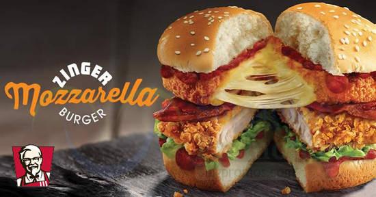 KFC New Zinger feat 2 1 Mar 2018