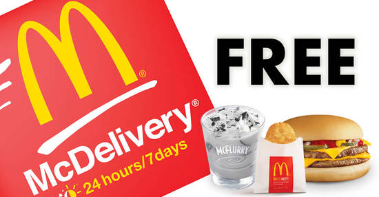 McDonalds McDelivery 2 Mar 2018