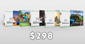 Microsoft Store: Only $298! Save on selected Xbox One S 500GB consoles! Ends 31 Mar 2018
