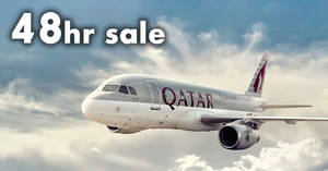 Qatar Airways 48hr sale fares fr $738 all-in return! Book by 16 Aug 2018