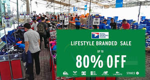 Royal Sporting House: Up to 80% Off lifestyle branded sale! From 14 – 17 Mar 2018