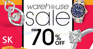 861797ec24 SK Jewellery up to 70% OFF warehouse sale! From 28 Mar – 1 Apr 2018