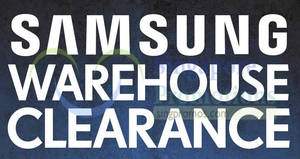 Samsung TV & Home Appliances up to 90% off warehouse clearance sale! Ends 22 Apr 2018