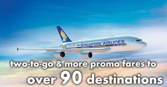 Singapore airlines new two to go more promo fares to over 90 singapore airlines new two to go more promo fares to over 90 destinations book by 20 mar 2018 reheart Gallery