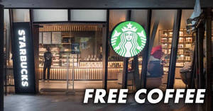 Starbucks: FREE coffee all outlets! Just bring your own mug or tumbler on 24 Mar 2018, 830pm – 930pm