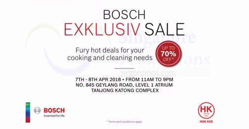 Bosch feat 6 Apr 2018