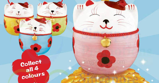 Cheers Lucky Cat feat 17 Apr 2018