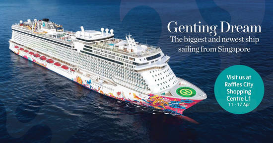 Dream Cruises feat 10 Apr 2018