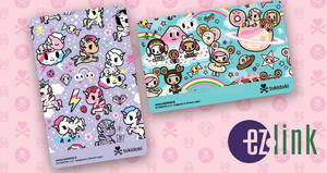 Featured image for EZ-Link: New tokidoki ez-link cards now available at selected Popular stores from 20 Apr 2018
