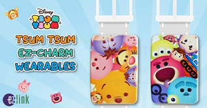 EZ-Link: NEW Disney Tsum Tsum EZ-Charm Wearables now available! From 24 Apr 2018