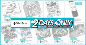 Fairprice: 2-days offers – Ocean Fresh Delite, M&M's, Milo, Brand's, & more! Ends 22 Apr 2018