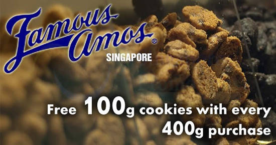 Famous Amos feat 11 Apr 2018