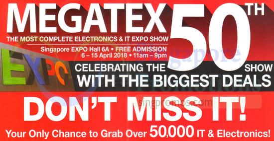 Megatex Electronics IT feat 29 Mar 2018