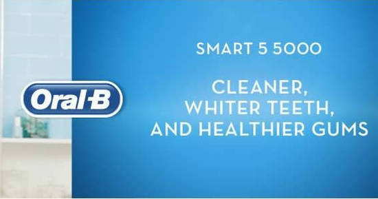Oral B Smart 5 5000 feat 21 Apr 2018