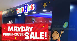 """Featured image for Toys """"R"""" Us: Up to 60% OFF warehouse sale at United Square! From 2 – 6 May 2018"""