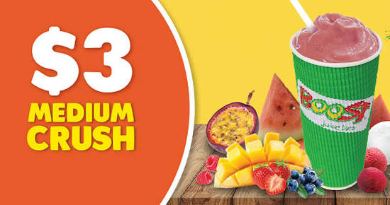 Boost Juice Bars feat 29 May 2018