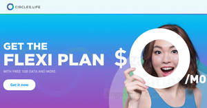 Circles.Life launches new $0/mo Flexi Plan featuring 1GB mobile data, Caller ID & more! From 22 May 2018