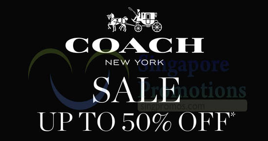 Coach Special Sale feat 17 May 2018