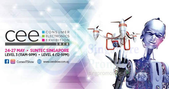 Consumer Electronics Fair feat 15 May 2018