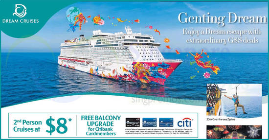 Dream Cruises feat 8 May 2018