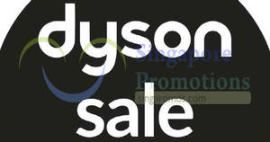 Dyson up to 60% off sale at SAFRA Toa Payoh! From 26 – 27 May 2018