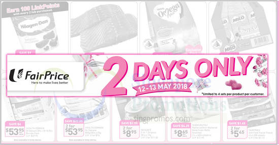 Fairprice 12 May 2018