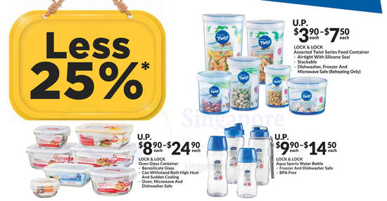 Fairprice Save 25 feat 10 May 2018