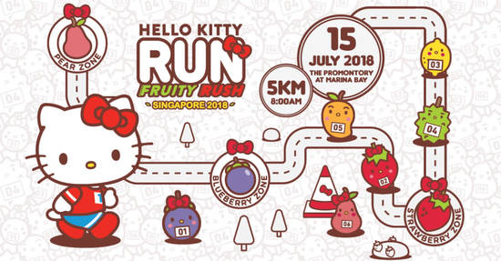 Hello Kitty Run 8 May 2018