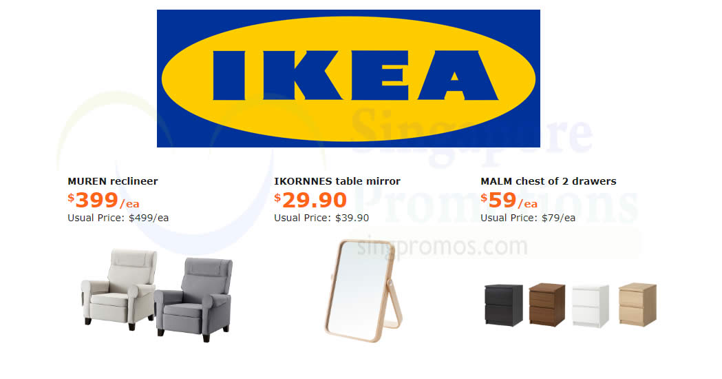 Ikea Save Up To 100 On Selected Items Offers Valid From 7 May 3