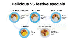 IKEA: $5 Ramadan Menu Festive Specials from 16 May – 15 Jun 2018
