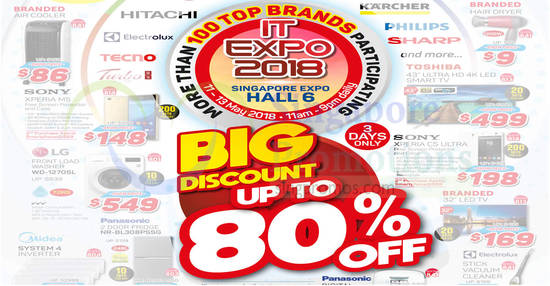 IT Expo 2018 feat 7 May 2018