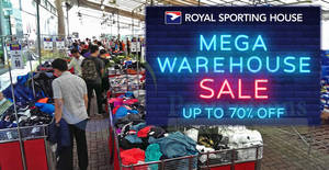 356e491e80 Royal Sporting House up to 70% OFF warehouse sale from 31 May – 3 Jun 2018  UPDATED 31 May 2018