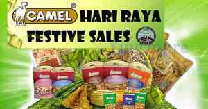 Seng Hua Hng Foodstuff (Camel Nuts) Hari Raya festive sale from 24 May – 14 Jun 2018