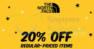 Featured image for The North Face: 30% off footwear and 20% OFF storewide for all reg-priced items till 3 Mar 2019