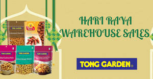 Tong Garden Hari Raya warehouse sale from 25 May – 14 Jun 2018