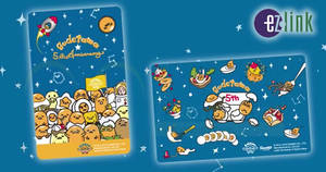 EZ-Link just released new Sanrio Gudetama ez-link cards! Available from 22 Jun 2018