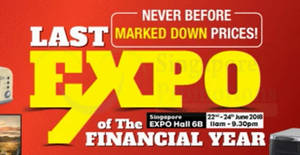 Harvey Norman's Last Expo of the Financial Year from 22 – 24 Jun 2018