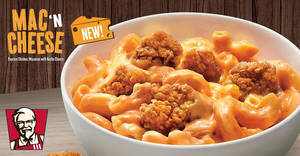 KFC's Mac 'N Cheese returns for a limited time from 9 July 2020