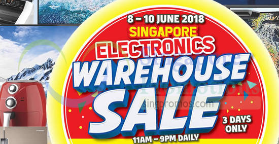 Singapore Electronics Warehouse feat 2 Jun 2018