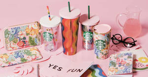 Starbucks x Ban.do newest collection to be available from 25 Jun 2018