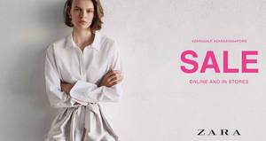 ZARA mid-year sale has started! From 21 Jun 2018